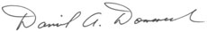 Dan Domenech Signature