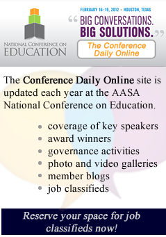 Conference daily online ad