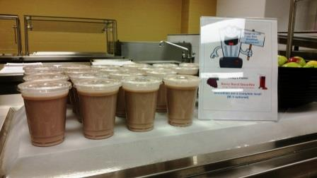 Meriden Charge up Smoothies