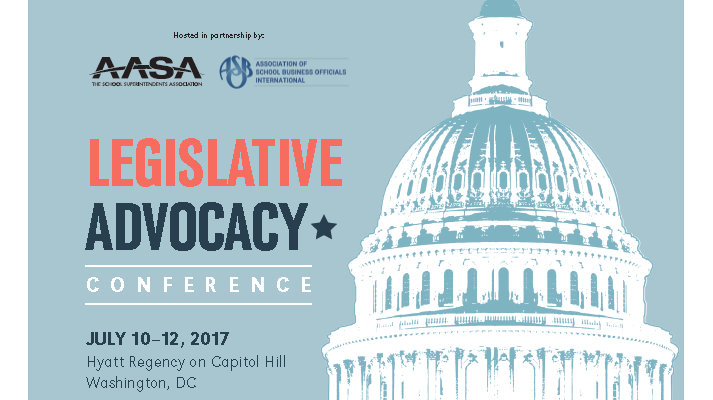 Register for AASA's Legislative Advocacy Conference