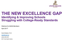 the new excellence gap webinar